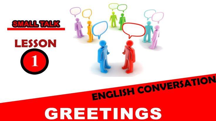 Easy English Conversation Greetings  001