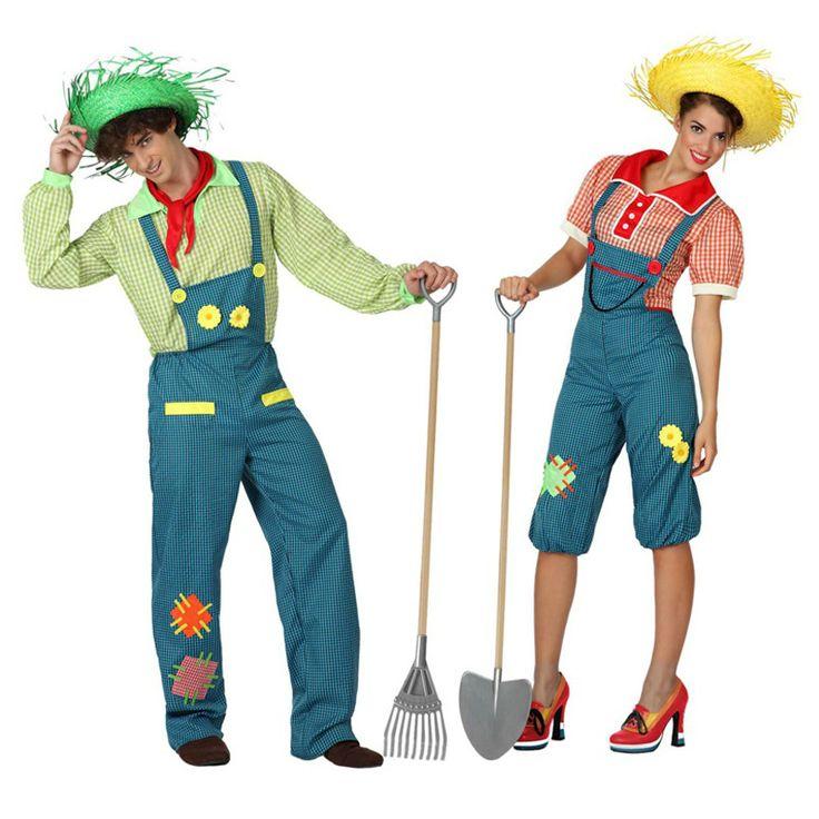 Costumes pour couples Fermiers #déguisementscouples
