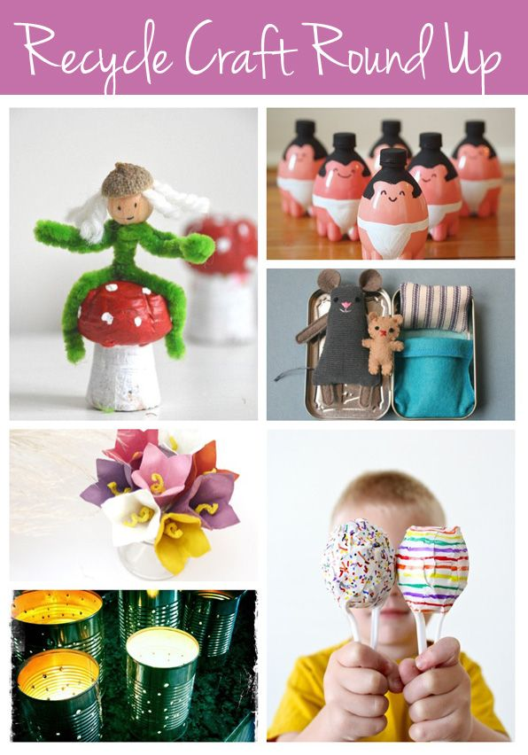 super cute recycle craft ideas for kids