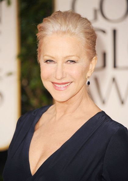 Actress Helen Mirren arrives at the 69th Annual Golden Globe Awards held at the Beverly Hilton Hotel on January 15, 2012 in Beverly Hills, California.