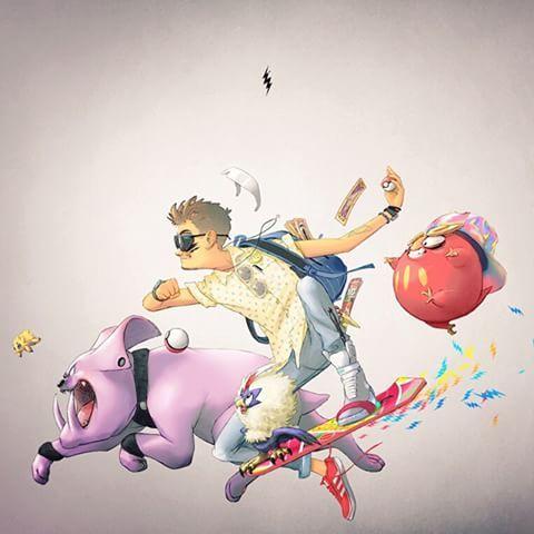 Self-portrait  #selfportrait #ricardolira #lira #wizard #harrypotter #wand #pokémontrainer #pokémon #darumaka #granbull #rufflet #joltik #pokéball #timetraveler #hoverboard #backtothefuture #digidestined #digimon #clowcards #cardcaptor #sakuracardcaptors #illustration #digitalart #art #fanart #hat #glasses ##sneakers