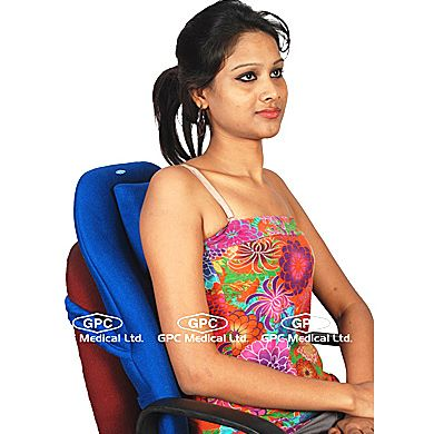 Orthopaedic Back Rest- Short Type : GPC Medical Ltd. - Exporter and Manufacturers of Orthopaedic back rest, orthopaedic back rest- short type, portable back rest, orthopedic back rest from India.