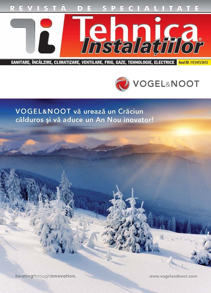 Revista Tehnica Instalatiilor nr. 11_107_2012