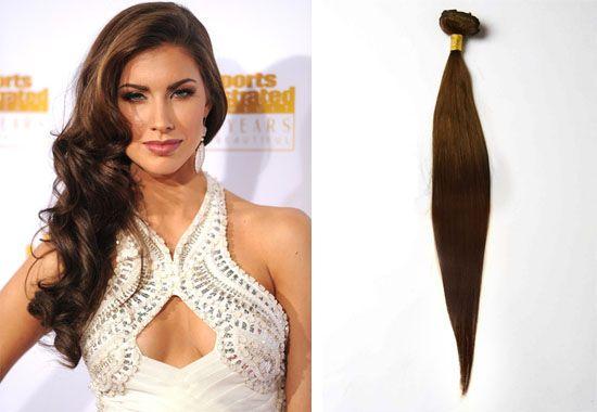 Top 2 Celebrity Sombré Hair Colors 2014 Spring: Dark Brown