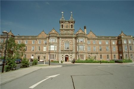 """""""Jimmy's"""" St James' Hospital Leeds and the former new Leeds workhouse. Born behind this building."""