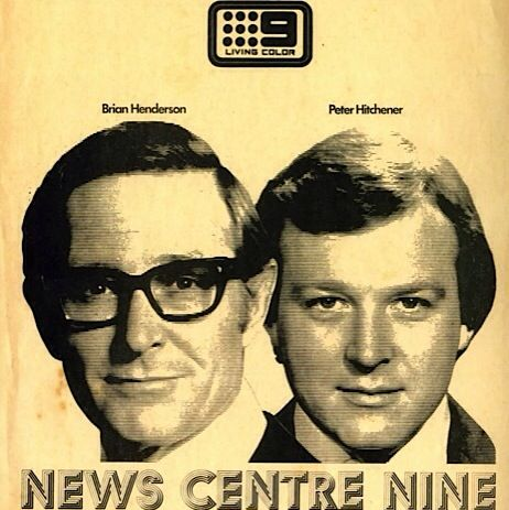 Remember when? This is part of a print media ad that appeared in The Bulletin magazine in the early 1970s. Brian Henderson and I co-anchored a network news bulletin simulcast in Sydney and Melbourne