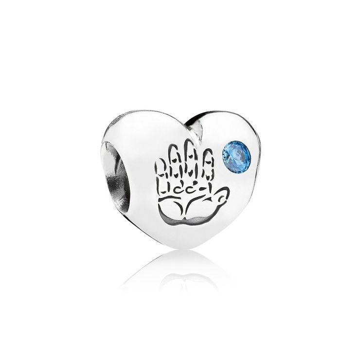 Pandora Black Friday 2015 Baby Boy Charm Clearance Deals PDR780431CZ…