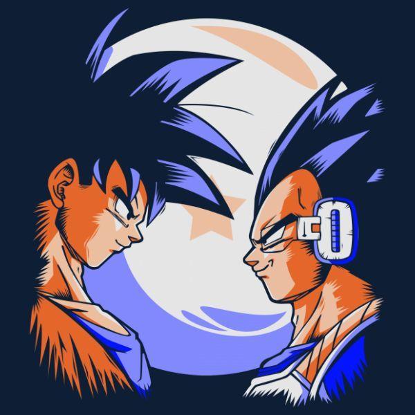 Saiyan Showdown - Visit now for 3D Dragon Ball Z compression shirts now on sale! #dragonball #dbz #dragonballsuper