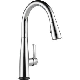 Delta Essa Touch2o Chrome 1-Handle Deck Mount Pull-Down Touch Kitchen Faucet 9113T-Dst