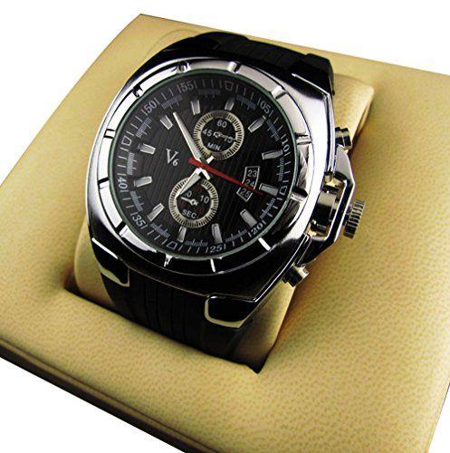 1 x homme montre quartz montre haut de gamme business. Black Bedroom Furniture Sets. Home Design Ideas