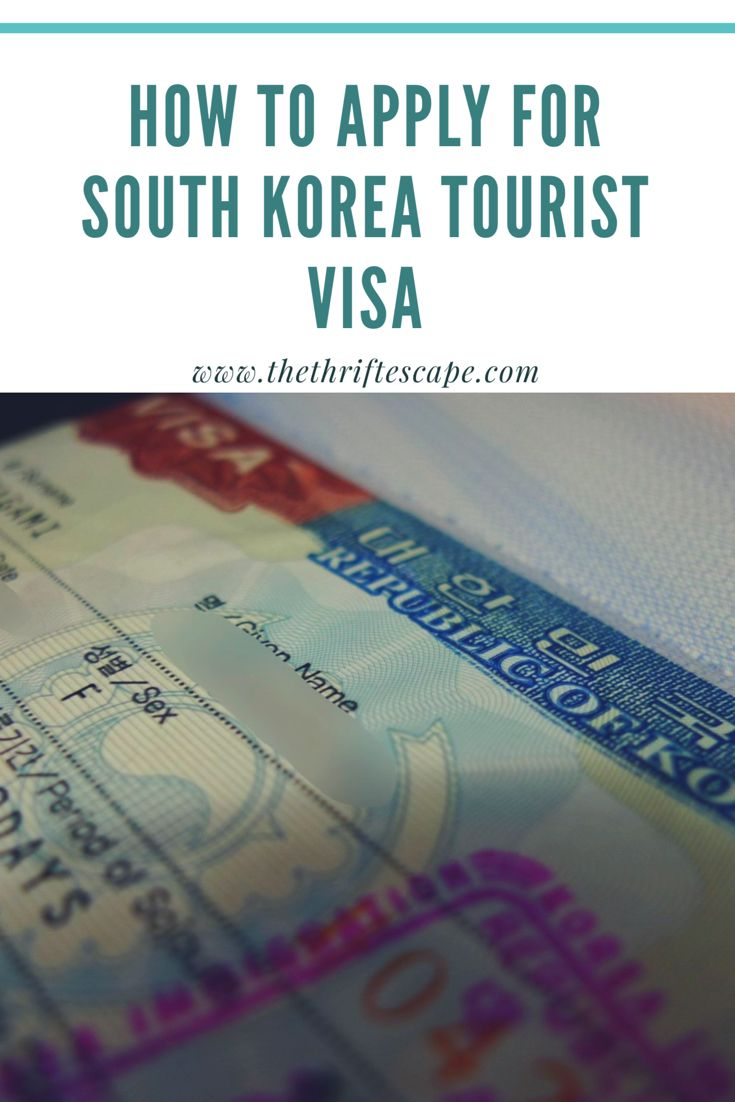 How To Apply For South Korea Tourist Visa Korea Travel South Korea South Korea Travel