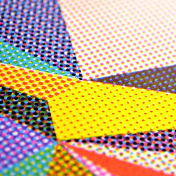 CMYK Screenprint on Behance by Ellery Yahia. She has very interesting CMYK screen prints. They are interesting as does not base her image on a certain subject but creates different shapes with a variety of halftone dots and then prints them into different section on paper alternating colors.