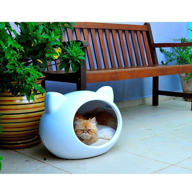 cathouse #cat #kitten #meow: Cat Beds, Stuff, Pet, Caves House, Cats Beds, Cats House, Cat Houses, Cats Caves, Animal