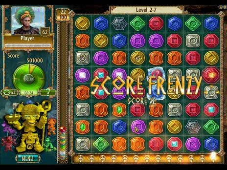 The Treasures Of Montezuma 2 game is a Match Three game, one of more than 400 free Games you can download and find at Free Ride Games. Return to the jungle in The Treasures of Montezuma 2, an all-new Match 3 game with more levels, more challenges and more fun! Power-up totems and unleash special powers by making multiple matches of the same colored token. Then rack up a high score by activating Score Frenzy with a series of insanely fast matches. Finally, unlock trophies for performing…