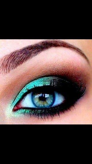 Peacock eye color,i love it!!!