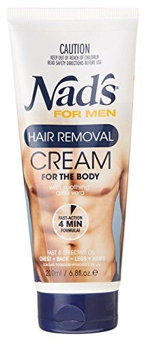 From 10.75:Nads Mens Hair Removal Cream 6.8 Ounce Tube (200ml) (3 Pack)