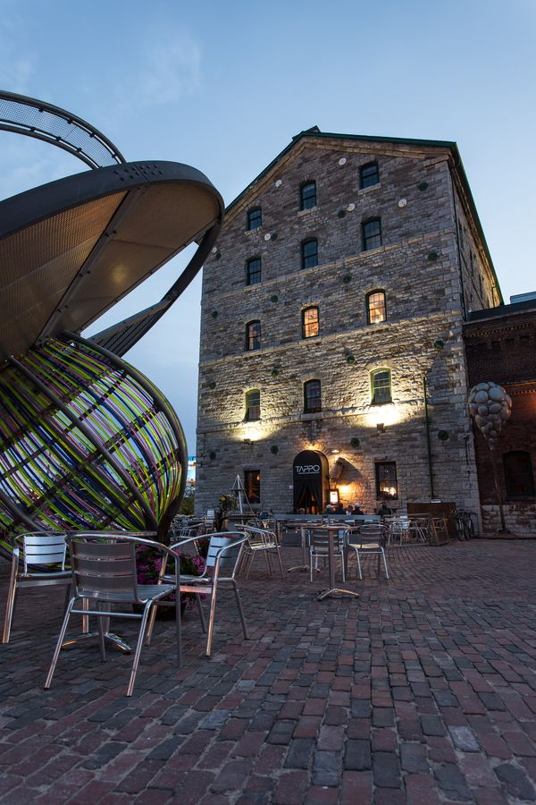 Distillery District, Toronto, Ontario, Canada | by Calvin Lee, via 500px | Explore, create and manage live experiences and local events at www.bruha.com