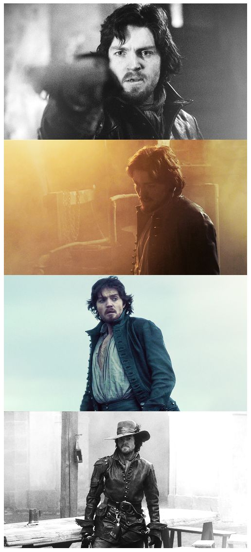 Athos (Tom Burke) - The Musketeers.. Such a hottie.