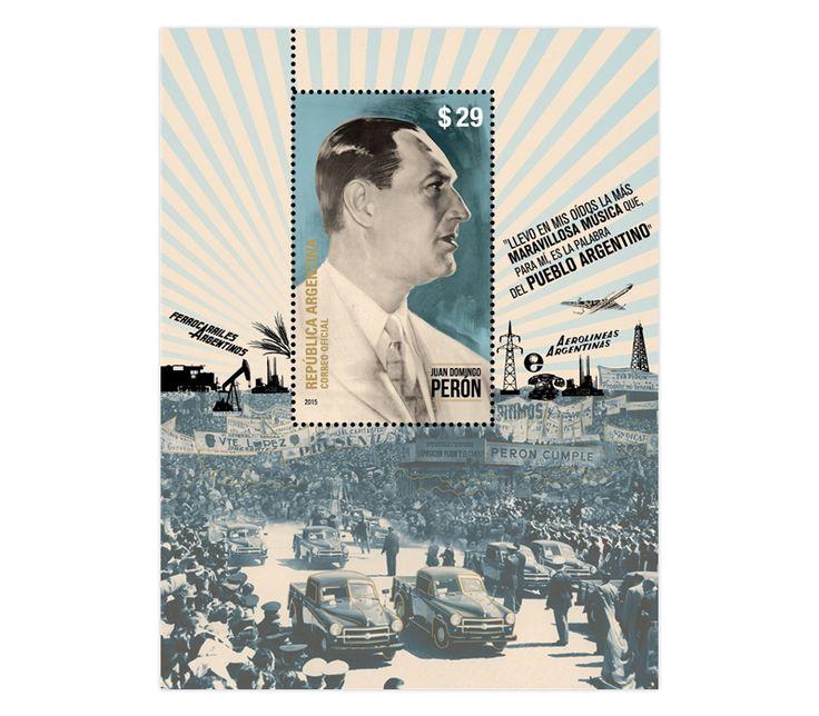 COLLECTORZPEDIA Hombres del Bicentenario - Juan Domingo Perón