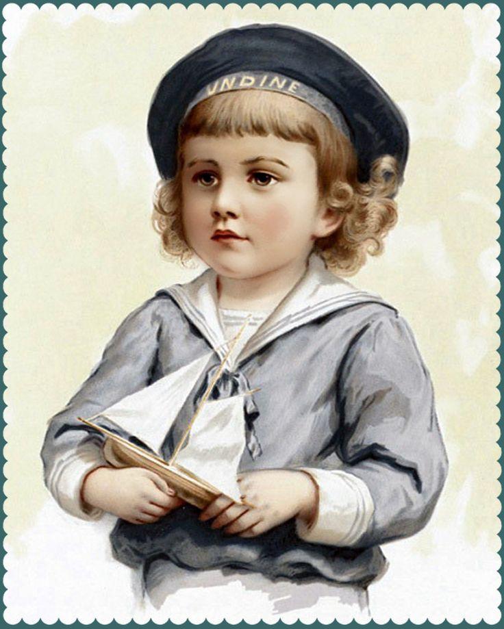 Joy - всё то, что я люблю!: Винтажные открытки с детками