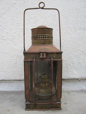 Old Kerosene Lanterns For Sale | copper ship kerosene lantern light lamp maritime nautical for sale new ...
