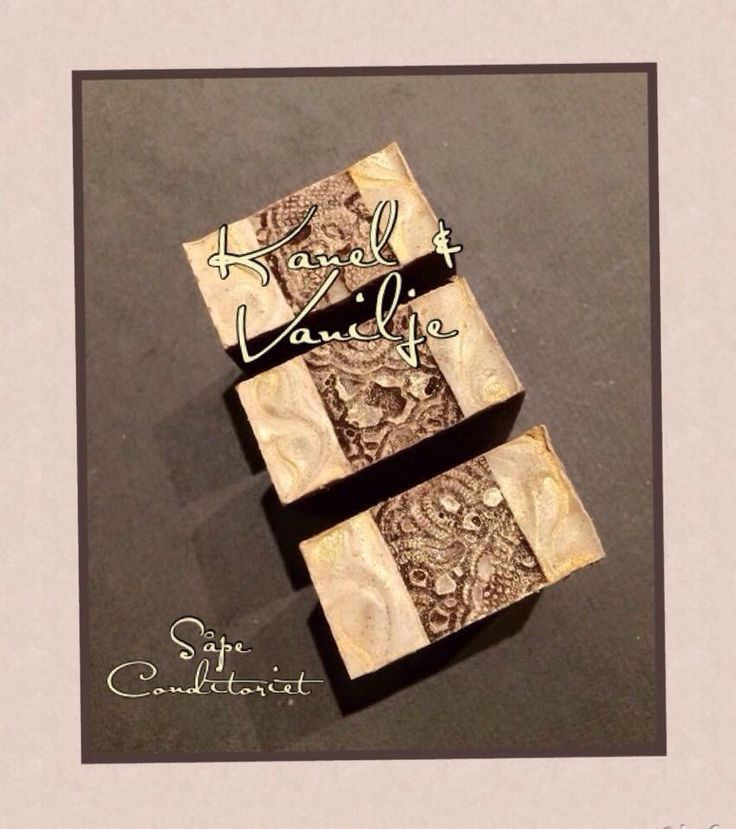 Handmade soap by Såpe Conditoriet