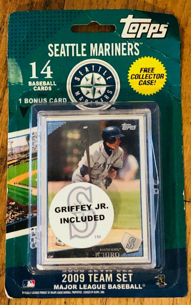 2009 Seattle Mariners Topps Mlb Factory Baseball Cards Team Set