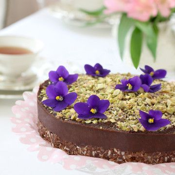 Glutenfri raw food kladdkaka