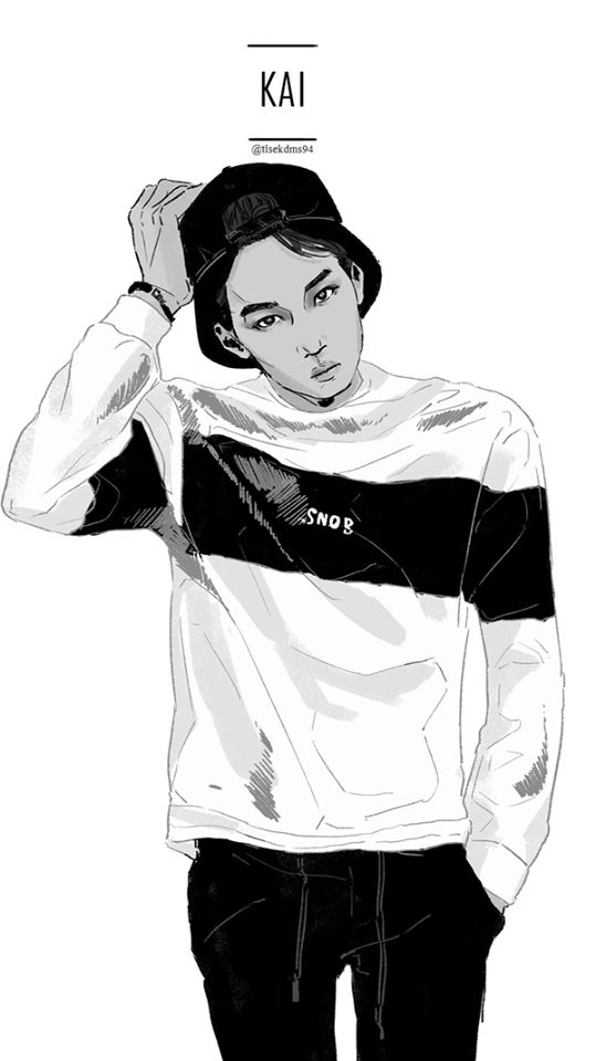 <Fanart> Kai this really kind of look like him... love it