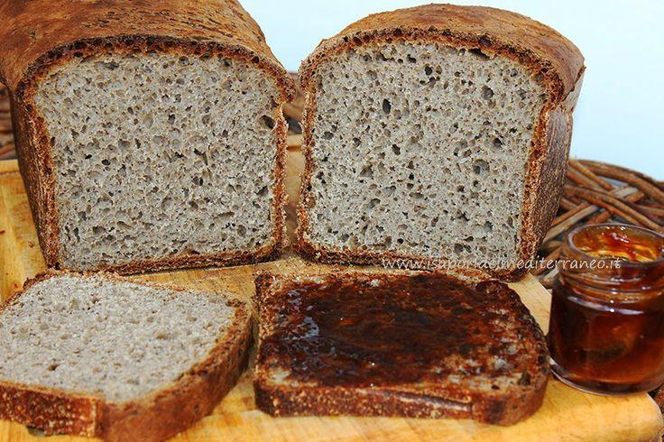 i sapori del mediterraneo: Pane al grano saraceno con lievito madre