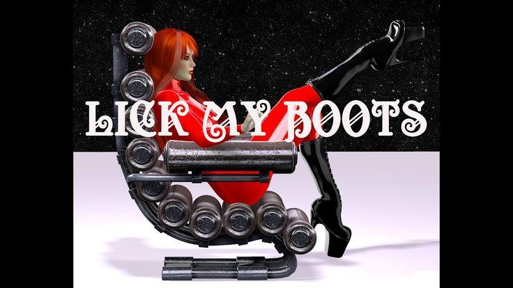Lick My Boots - Femdom Fetish Trailer by Princess Indigo