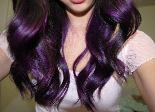 Trends Dark Burgundy Plum Hair Color Style Ideas Amazing | Medium ...