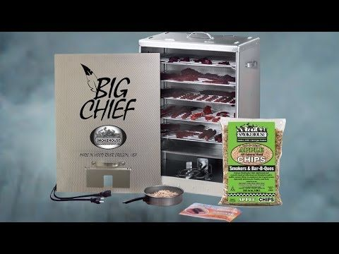 Big Chief Front Load Electric Smoker Salmon Smoker Grill