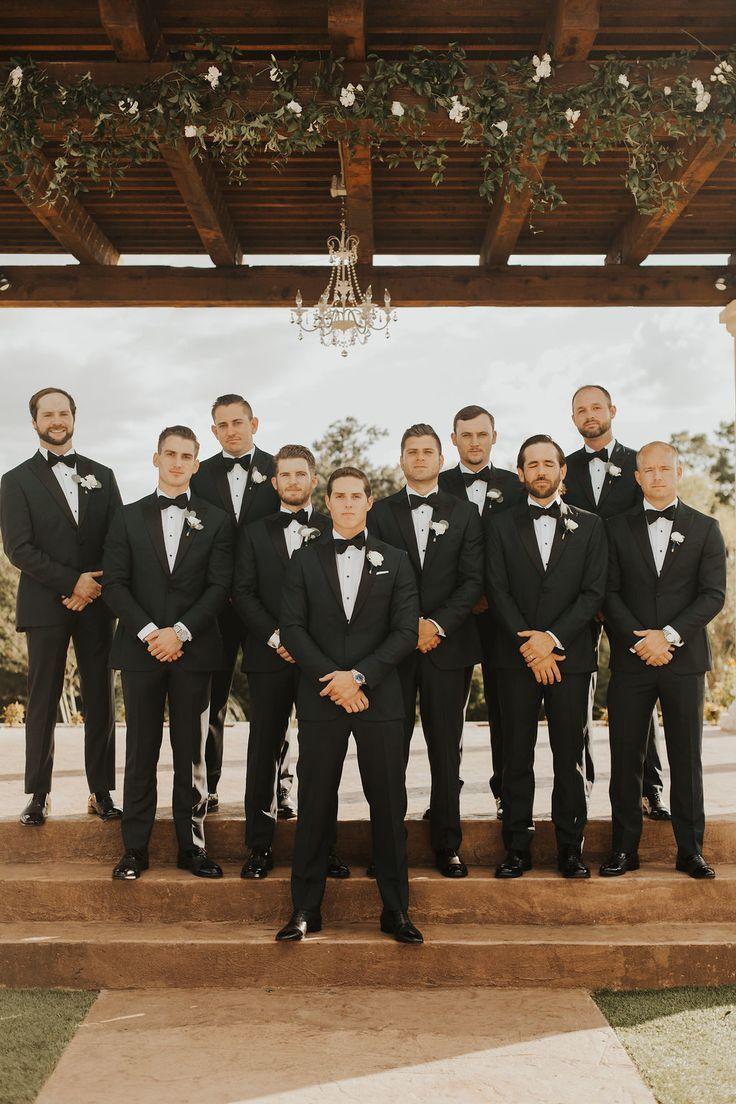 | stijlvolle groomsmen kijken | formele Boheemse groomsmen kijken | stijlvolle outdoor trouw …