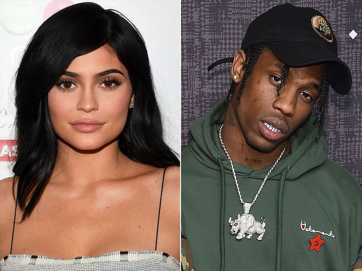 A week after hitting up Coachella together, Kylie Jenner and Travis Scott were spotted getting cuddly at an NBA playoff game in Houston.