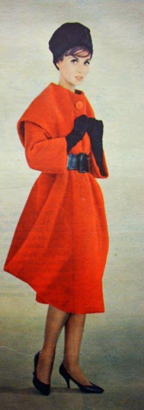 OĞUZ TOPOĞLU : jacques griffe 1959 manto modelleri