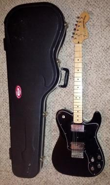 2008 Fender Telecaster Deluxe 72 Reissue electric guitar