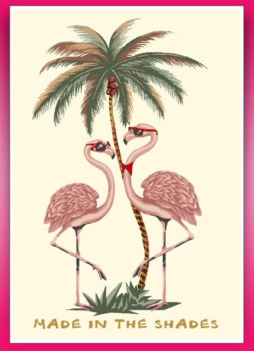 """Ladies. """"Bow ties are cool."""" Even cooler on a flamingo!"""