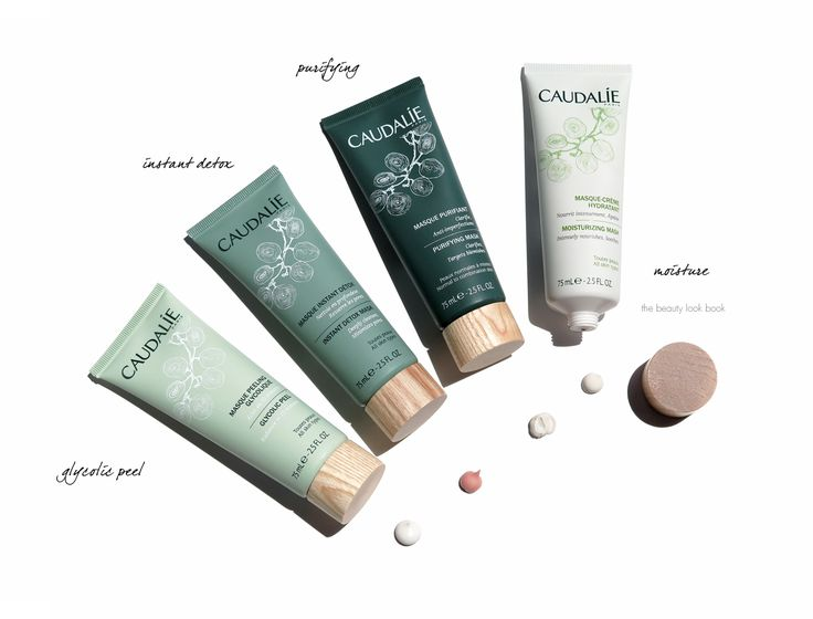 The Beauty Look Book: Caudalie Mask Wardrobe: Instant Detox, Purifying, Moisturizing and Glycolic Peel