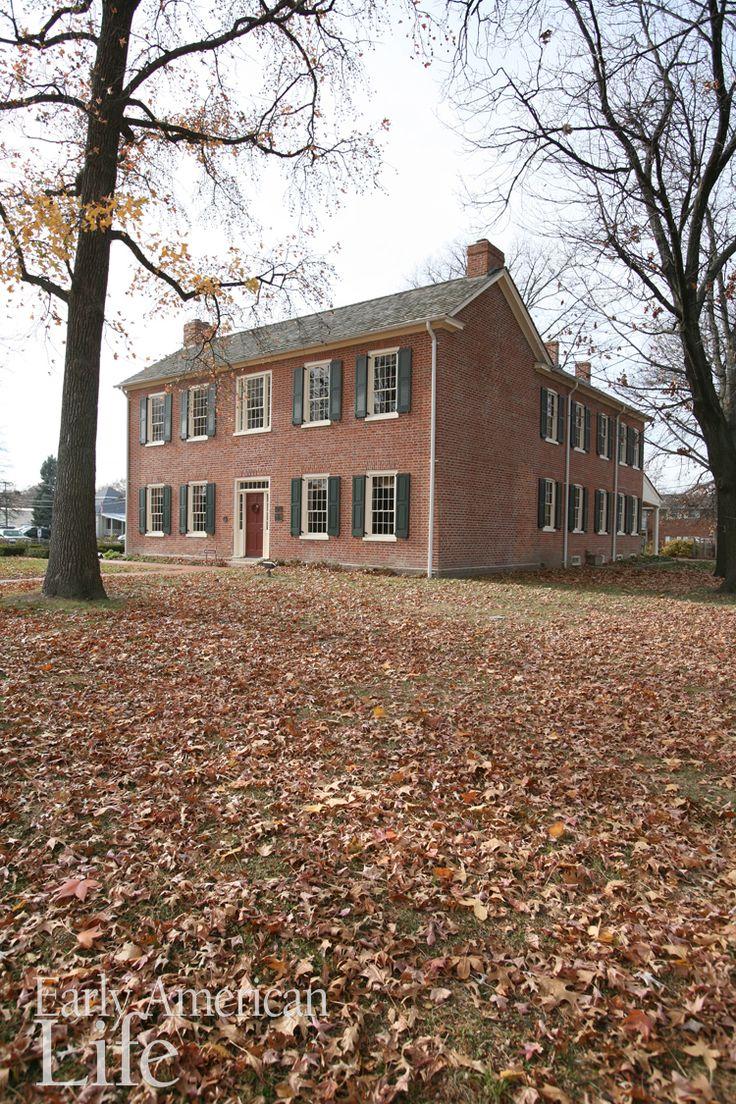 The 1820 Col Benjamin Stephenson House in