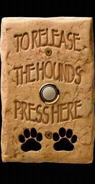 doorbell to Release the Hounds Press Here May   2013