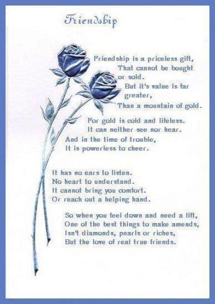 Definition True Friendship Quotes