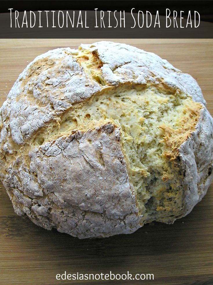 traditional irish soda bread notebook bread rolls pizzas breads ...