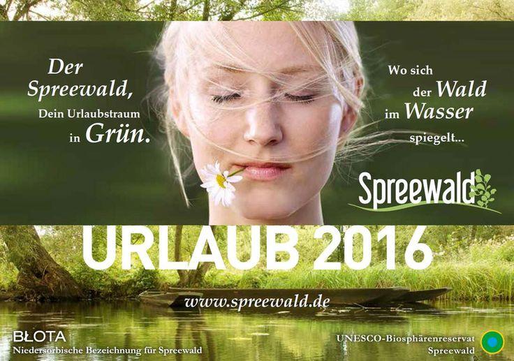 Titel Urlaubsmagazin Spreewald