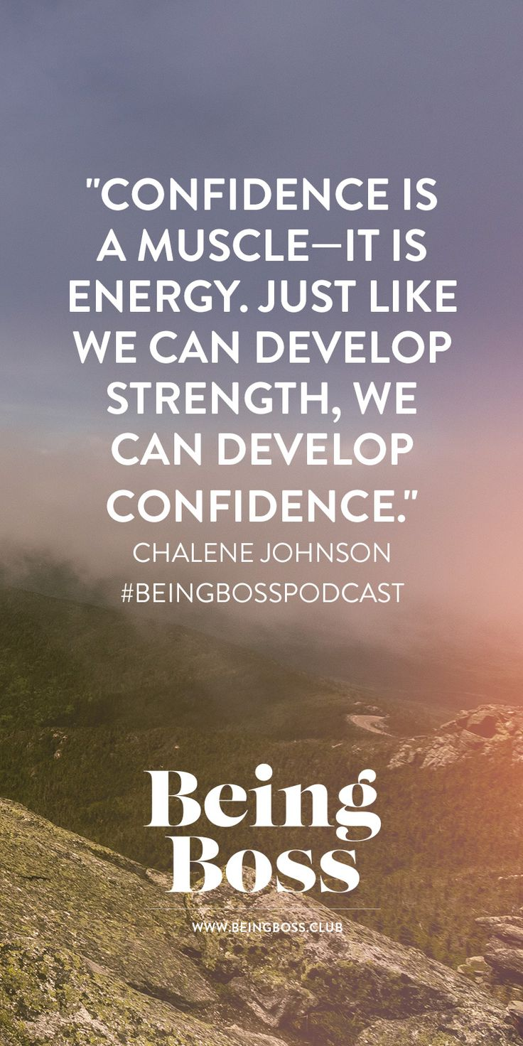 Confidence is a muscle   Chalene Johnson on Being Boss Podcast