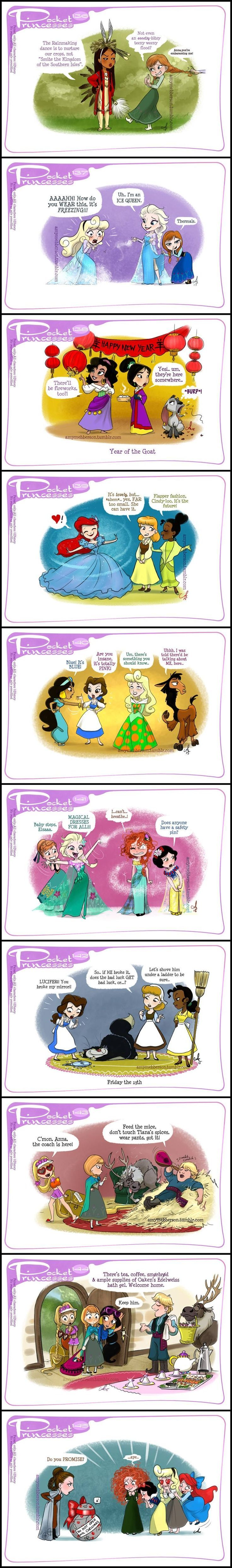 Pocket Princesses (Part 14) by Amy Mebberson: