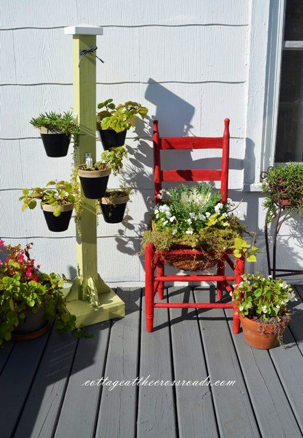 We Finally Stained Our Deck – green thumb