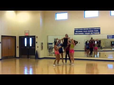 COOL Cheer Stunt sequence - YouTube
