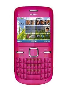 """Nokia C3-00 - Hot pink Smartphone .Pink is thought to have a calming effect. One shade known as """"drunk-tank pink"""" is sometimes used in prisons to calm inmates.  #sprout #iphone #iphone5 #iphone5s #iphonecover #iphonecase #pink #smartphone #color #colour #colourmeaning #colourpsychology"""