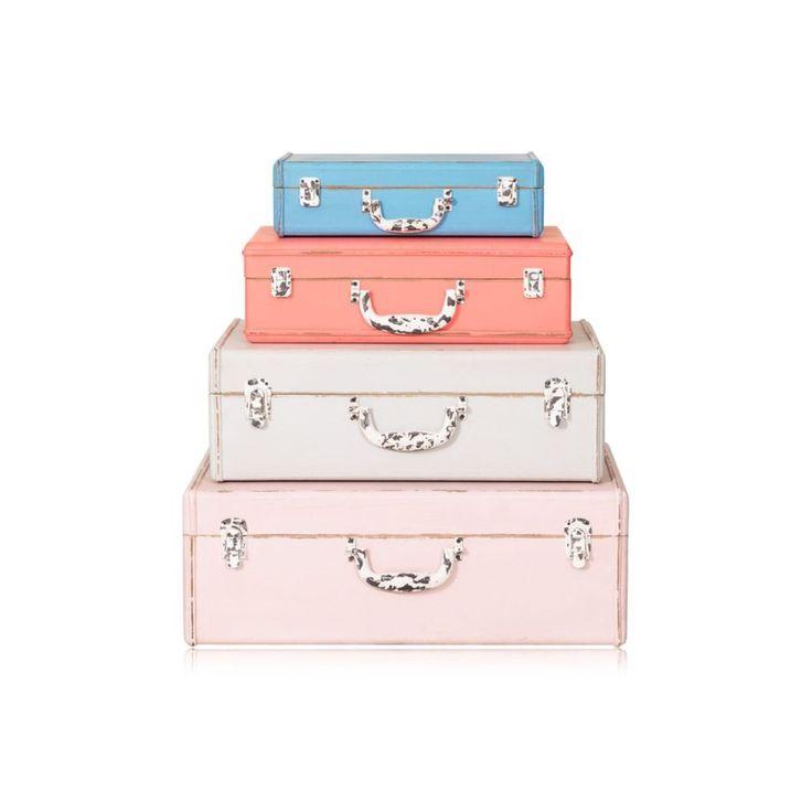 Loft Decorative Storage Suitcases